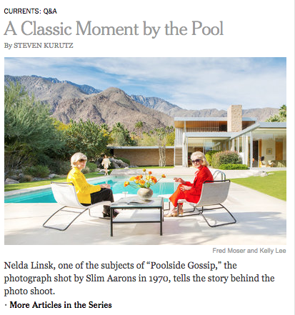 Poolside Gossip Reunion in the New York Times.